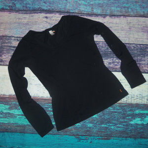 Lucy Black Workout Top M